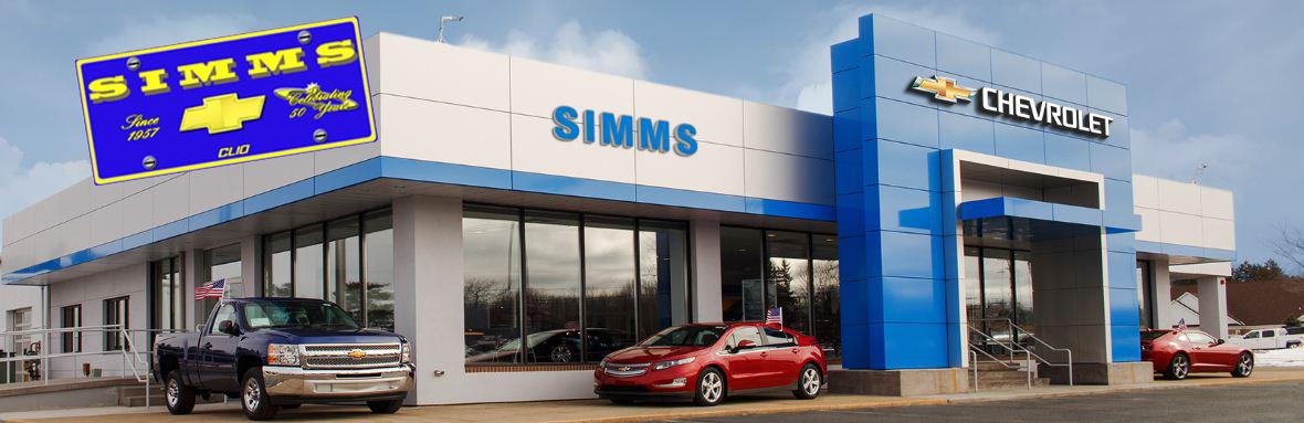 Chevrolet Service Department Automotive Service Clio Simms